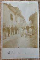 VAUD: LUTRY - SAVUIT - CHEMIN DE PRAZ DEBUT 1900 AVEC HABITANTS DU QUARTIER... RARE - VD Vaud