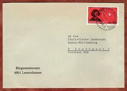 Brief, Kopernikus, Leutershausen Nach Stuttgart 1973 (99740) - Storia Postale