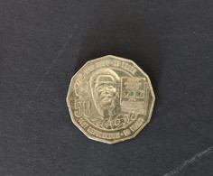 Australia 2017 50c Eddie Mabo Anniversary Aborigines Referendum Coin QEII - 50 Cents