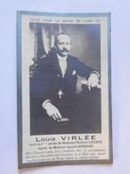 Faire-part Décès Louis Virlée Grand-Leez 1877 Moustier-sur-Sambre 1927 - Todesanzeige