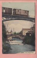 OLD  POSTCARD -    SWITZERLAND -  ORBE - TRAM  1908 - VD Waadt