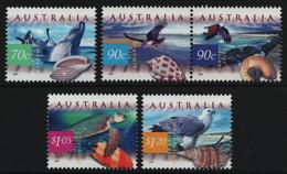Australien 1999 - Mi-Nr. 1831-1835 ** - MNH - Wildtiere / Wild Animals - Nuevos