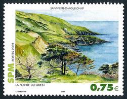 ST-PIERRE ET MIQUELON 2002 - Yv. 780 **   Faciale= 0,75 EUR - La Pointe Du Ouest  ..Réf.SPM12304 - Unused Stamps