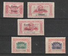 Maroc Espagnol Poste N° 293 A 297 Sans Charniére ** Signé Cotter - Spanisch-Marokko