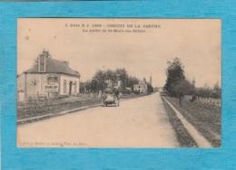 Circuit De La Sarthe, 1906. - Sortie De Saint-Mars-la-Brière. - Other Municipalities