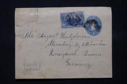ETATS UNIS - Entier Postal + Complément ( Christophe Colomb ) En 1893 Pour L 'Allemagne - L 78498 - ...-1900