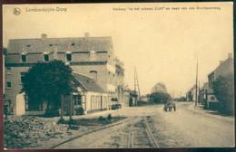 """Lombardzijde Dorp : Herberg """"in Het Schoon Zicht"""" En Baan Van Buurtspoorweg - Middelkerke"""