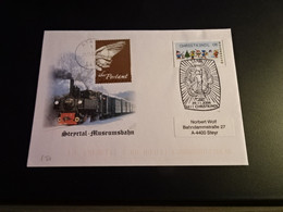 TR1862-   FDc   - Adressed - Austria 2006 - Steyrtal - Museumsbahn - Trains
