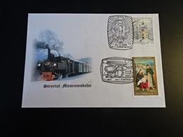 TR1949-   Enveloppe    - Austria 2006 - Steyrtal - Museumsbahn  - Christkindl - Trains