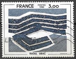 Timbres - France -  1980 - 3,00 - N° 2075 - RAOUL UBAC - - Non Classés