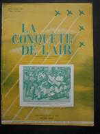 LA CONQUETE DE L'AIR 1950 N°8-FOKKERS.11-B. HEWITT-planeur C.800-DOUGLAS D.C.4-BRISTOL-FREIGHTER-MILES-MERCHANTMAN - Aerei