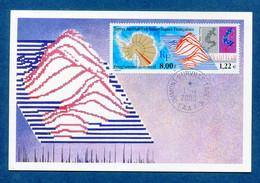 ⭐ Terres Australes Et Antarctiques Françaises - TAAF - Carte Maximum - FDC - Premier Jour - Programme Sommeil - 2000 ⭐ - Lettres & Documents