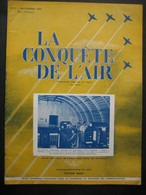 LA CONQUETE DE L'AIR 1950 N°9-GLOSTER METEOR4-BRABAZON1-DOUGLAS DC-6-HAWKER P.1040 & P.1052-FOKKER S.13-BELL 47 D.1 - Aerei