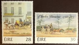 Ireland 1986 Bianconi Paintings MNH - Ungebraucht