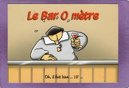 MAM'GOUDIG Illustrateur Signé Jean Paul David  Le Bar O Mètre Oh Il Fait Bien ... 12° ... Humour - Other Illustrators