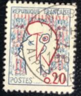 République Française - P4/14 - (°)used - 1961 - Michel 1335 - Marianne - 1961 Marianne De Cocteau