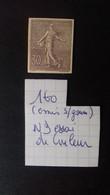 FRANCE  N°160 NON DENTELE ESSAI DE COULEUR - Proofs