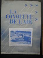 """LA CONQUETE DE L'AIR 1950 N°11-SOHAG-L.G.-125-VICKERS """"VISCOUNT""""-DOUGLAS SUPER DC-3-EMILE DUBONNET-Louis Emmanuel GEERTS - Aerei"""