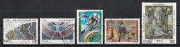 Italie 2000 : Timbres Yvert & Tellier N° 2441 - 2442 - 2443 - 2444 - 2445 - 2446 - 2447 - 2448 - 2449 Et 2450 Oblitérés. - 1991-00: Used