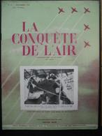 LA CONQUETE DE L'AIR 1950 N°12-GLOSTER METEOR 8-Tony ORTA-Ernest DEMUYTER-Lord Arthur TEDDER- METEOR D'ASSAUT - Aerei