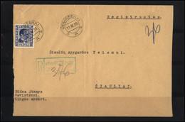 LITHUANIA Postal History Post Card Beleg 110 VEIVIRZENAI To SIAULIAI - Lituanie