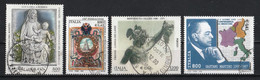 Italie 2000 : Timbres Yvert & Tellier N° 2461 - 2462 - 2463 - 2464 - 2465 - 2466 - 2467 - 2468 - 2469 Et 2470 Oblitérés. - 1991-00: Used