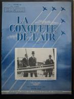 LA CONQUETE DE L'AIR 1951 N°1 SPECIAL 50e ANNIVERSAIRE AERO-CLUB ROYAL DE BELGIQUE-Bombardier CANBERRA--BOEING KB-29P - Aerei