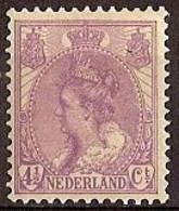 Nederland 1919 NVPH Nr 59 Postfris/MNH Koningin Wilhelmina - Ongebruikt