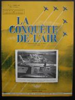 LA CONQUETE DE L'AIR 1951 N°3-F.94 JET FIGHTER LOCKHEED-A.W. METEOR N.F.11-BRISTOL 171-BRISTOL FREIGHTER MANNANA - Aerei