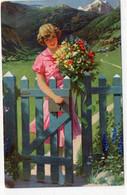 DC4936 - Ak Junge Frau Dame Deutschland - Mujeres