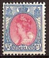 Nederland 1908 NVPH Nr 65 Postfris/MNH Koningin Wilhelmina - Ongebruikt