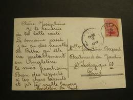 Stempel ( 454 )  Afstempeling Op Fantasiekaart  -  Noodstempel   1919 - Fortune Cancels (1919)
