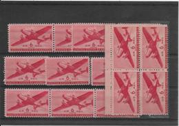 Etats Unis Poste Aérienne N°26 - Ensemble De 14 Exemplaires Neufs ** Sans Charnière - TB - 2b. 1941-1960 Ungebraucht