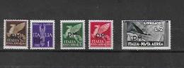 "Italien - Selt./postfr. Lot ""Militärpost P.M."" Aus 1943 - Michel 15/16, 18/20! - Posta Militare (PM)"