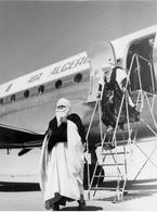 1970's Algérie Les Touaregs Algériens - Touareg, Algiers Airport, Air Algeria, Large Size Photo 20 X 27.5cm - Africa