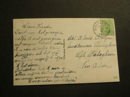 Stempel ( 464 )  Afstempeling Op Fantasiekaart  -  Noodstempel   1919 - Noodstempels (1919)