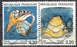 Timbres - France -  1988 - 2,20 X 2 - N° 2503 Et N° 2504 - PELLOS Et REISER - - Non Classés