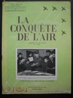LA CONQUETE DE L'AIR 1951 N°6 - BOEING B-17 - VERVIERS AVIATION - LOCKHEED F. 80 - Pub Motos FN Type XIII - Aerei