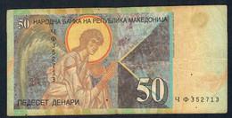 MACEDONIA   P15d  50  DENARI  2003 FINE - Macedonië