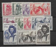 Mauritanie N°105/115 Sauf 112A - Neuf * Avec Charnière - TB - Neufs