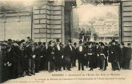 Angers * Centenaire De L'école Des Arts Et Métiers * Délégué Ministre Commerce & Administration De L'école Et Le Cortège - Angers