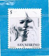 (Riz) San. MARINO ** -1978 - Virtù Civili.  Unif. 1009.  MNH - Unused Stamps