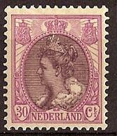 Nederland 1917 NVPH Nr 72 Postfris/MNH Koningin Wilhelmina - Ongebruikt