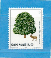 (Riz) San. MARINO ** -1979 - NATURA DA SALVARE  Unif. 1032.  MNH - Unused Stamps