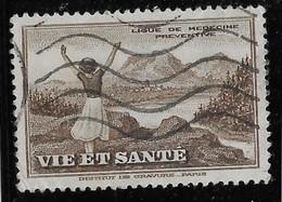France Vignette - Vie Et Santé - Oblitéré - TB - Tourisme (Vignettes)