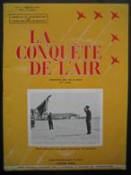 LA CONQUETE DE L'AIR 1951 N°7 SPECIAL 50e ANNIVERSAIRE AERO-CLUB-AVRO SCHAKLETON-FOKKER S.14-CHALLENGE FERN. BOUILLON - Aerei