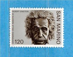 (Riz) San. MARINO ** -1979 - ALBERT EINSTEIN  Unif. 1016. Seconda Scelta MNH - Unused Stamps