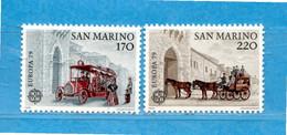 (Riz) San. MARINO ** -1979 - EUROPA.  Unif. 1017-108. Seconda Scelta MNH - Unused Stamps