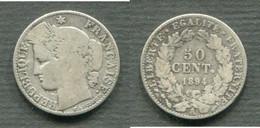 50 CENTIMES 1894 A - G. 50 Centimes