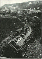 Norway Train Wreck - Nidareid, Picture From 1921 From The Accident - Unused Card - Trenes